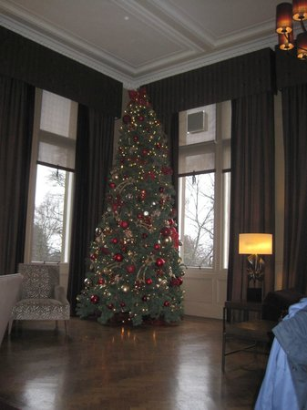 Doubletree by Hilton, Dunblane-Hydro: Christmas in the lounge
