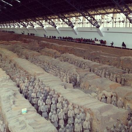 The Museum of Qin Terra-cotta Warriors and Horses: terra cotta warriors