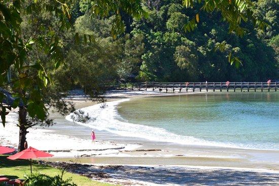 Bunga Raya Island Resort: Bunga Raya Resort Bay