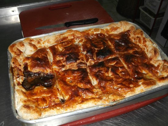 Highlander Too: Homemade Steak, Kidney & Guinness Pie in Puff Pastry...which piece would you like