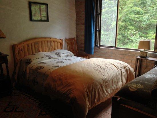 El Refugio de Intag Lodge: Bedroom of the River House