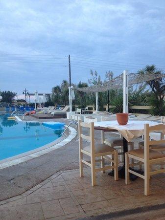 Zafiris Hotel: View from restaurant