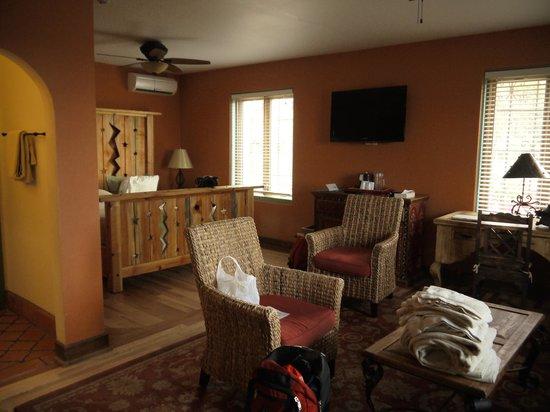 La Posada Hotel: parte della nostra camera