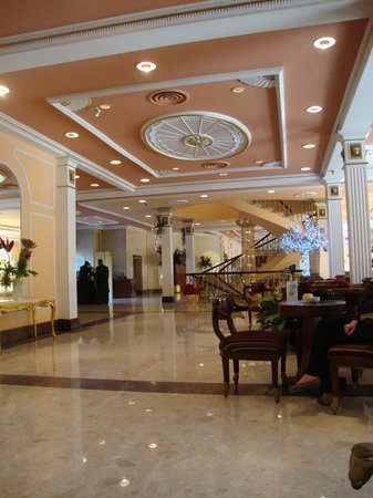Concorde El Salam Hotel Cairo by Royal Tulip: The lobby