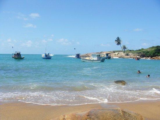 Cabo de Santo Agostinho, PE: Praia Calhetas