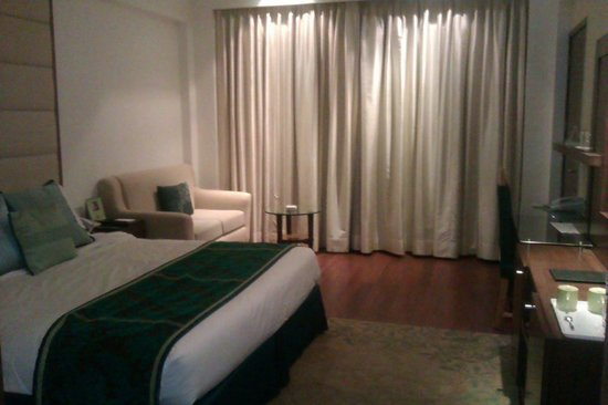 Radisson Jaipur City Center: The room  as we entered