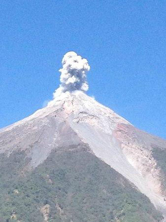 Antigua Spa Resort : volcano fuego