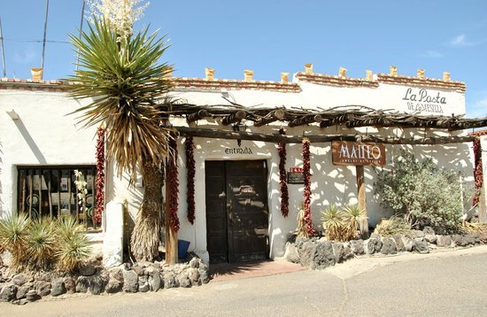 La Posta de Mesilla : A flavor of the old soouthwest
