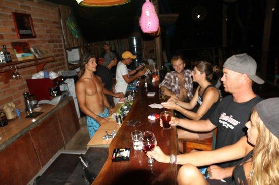 Camping Madera: cool bar scene