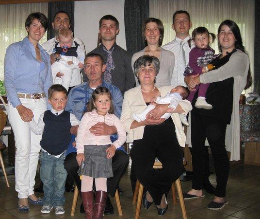 Rocca Pietore, Italia: La nostra bellissima famiglia
