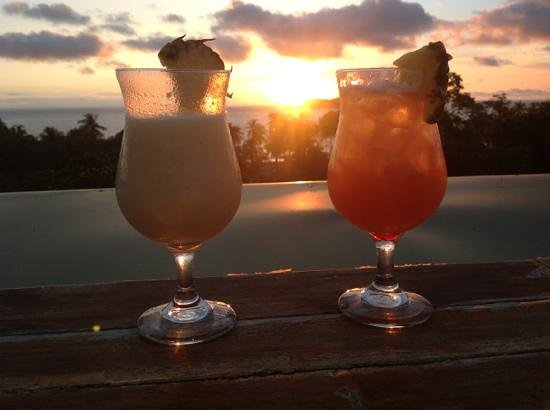 Hotel San Bada: Sunset drinks