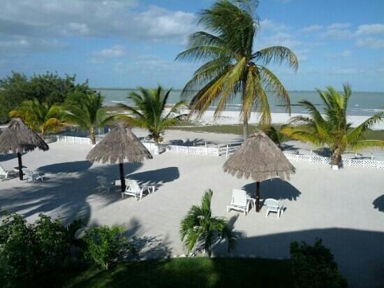 Hotel Puerto Holbox: vista del cuarto