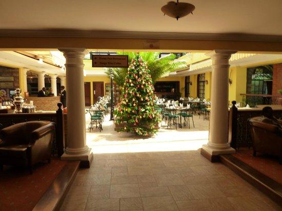 Fairview Hotel: The lobby