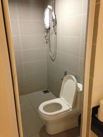 V Garden Hotel: Bathroom