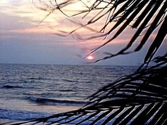 Mount Lavinia Beach: Enjoy your dinner whilst the sun sets