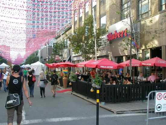 Gay Village: Sainte Catherine Street - The Village