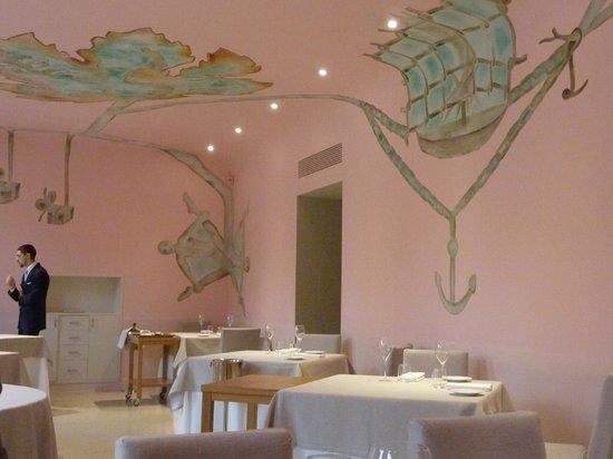 Piazza Duomo: La sala ristorante