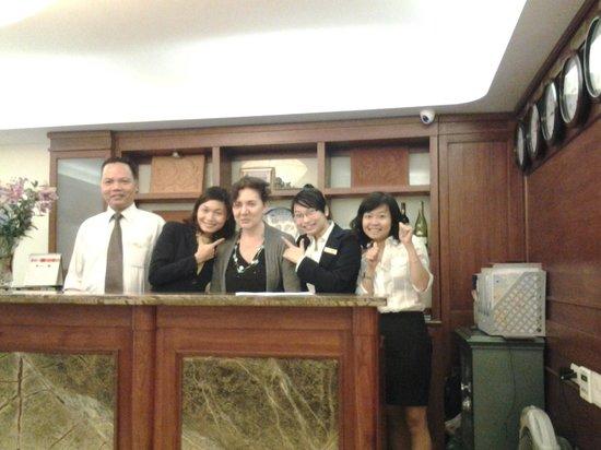 Hanoi Charming 2 Hotel: il fantastico staff