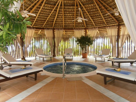 Grand Bahia Principe El Portillo: Le jacuzzi - hot tub dans le SPA