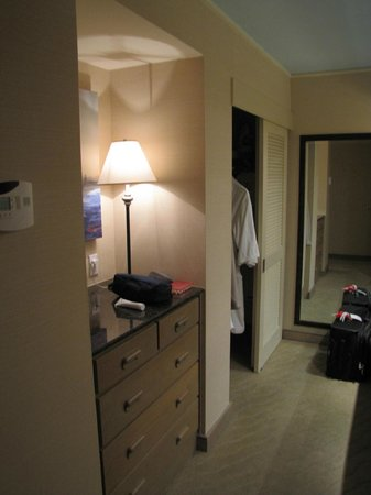 The Coeur d'Alene Resort: Dressing area