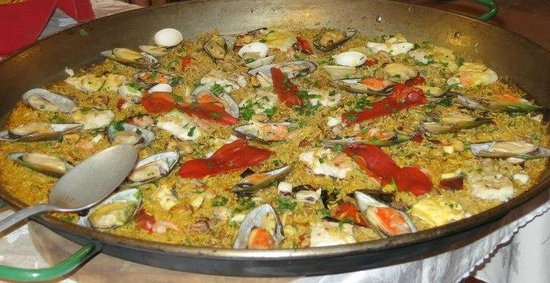 Sabor Mediterraneo : Paella de Marisco