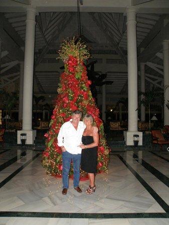 Grand Bahia Principe El Portillo: ambiance Noël