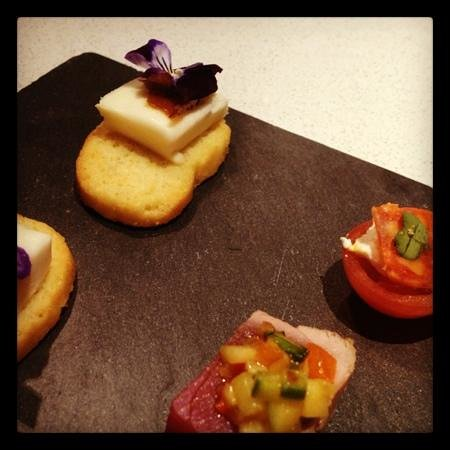 The Chester Residence: canapé delivery!