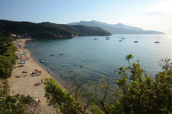 Hotel Casa Rosa: Die Bucht von Biodola