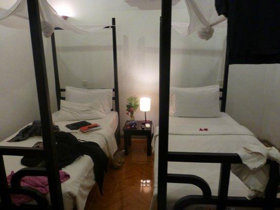 Phka Villa: une chambre twin