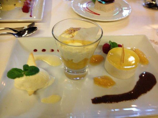 Minneci: Hauptspeise sowie Dessert - ein Genuss !!