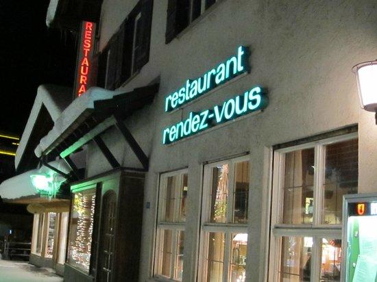 Restaurant Rendez-vous: Street view