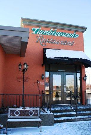 Tumbleweeds Grill: Exterior