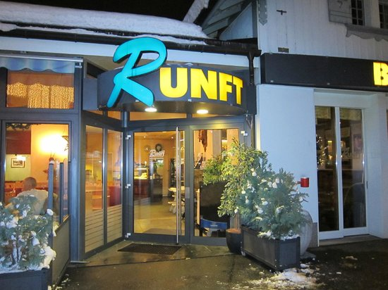Street view of Cafe Runft