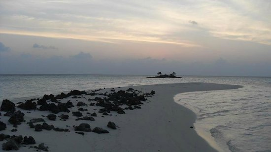 Asdu Sun Island: View from the island