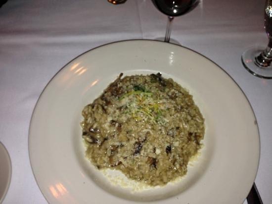 Vespa: mushroom risotto
