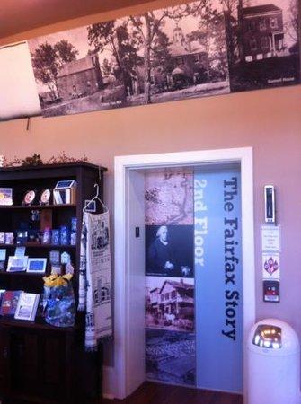 Fairfax Museum: Lobby