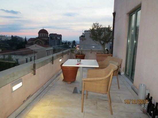 Eridanus Hotel: Terrace