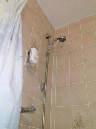 Hotel du Train: doccino pieno di calcare...