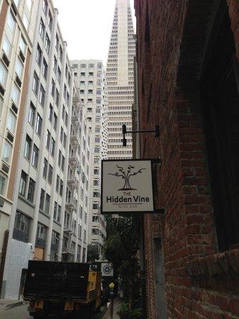 Photo of Wine Bar Hidden Vine at 408 Merchant St, San Francisco, CA 94111, United States