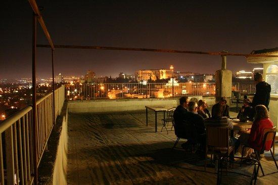 Gloria Hotel: Terrasse de nuit