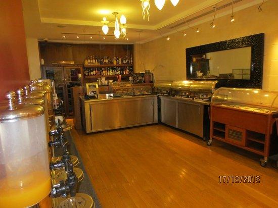 Eridanus Hotel: Breakfast