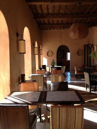 Kasbah Bab Ourika: Restaurant