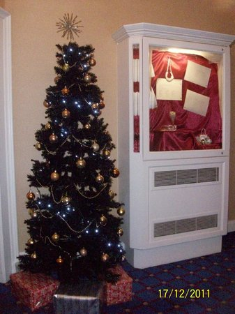 Hallmark Hotel Bournemouth Carlton : Decorated for Christmas