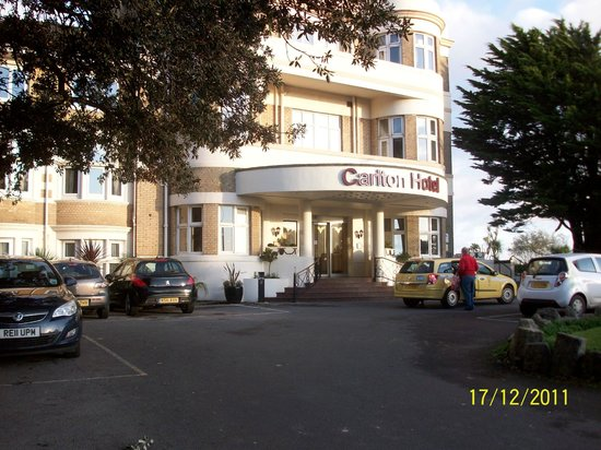 Hallmark Hotel Bournemouth Carlton: The front of the Hotel