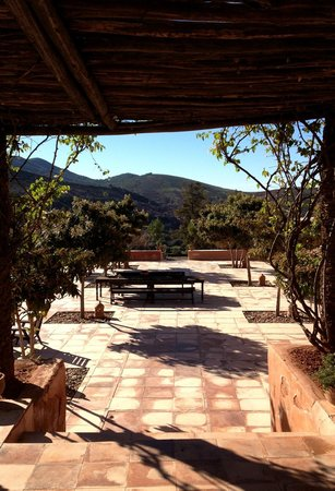 Kasbah Bab Ourika: Terrace