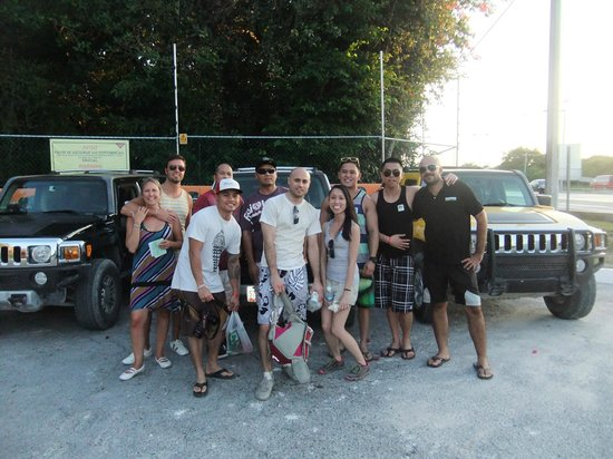 Hummer Jungle Tours: our group