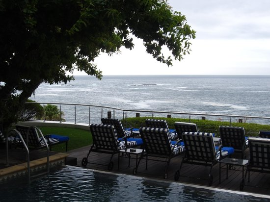 The Twelve Apostles Hotel and Spa: view from the pool
