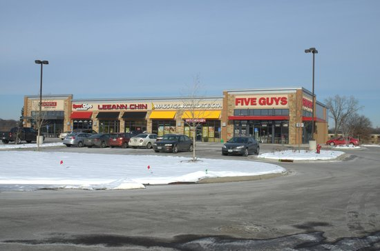 Five Guys Burgers and Fries: Five Guys at the east end of this mall