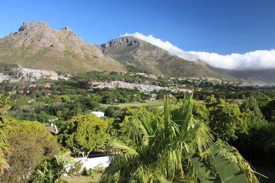 Hout Bay, Sydafrika: Blick vom Balkon der Corner Suite