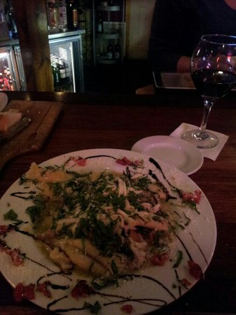 Nicolino's: vegetable pasta